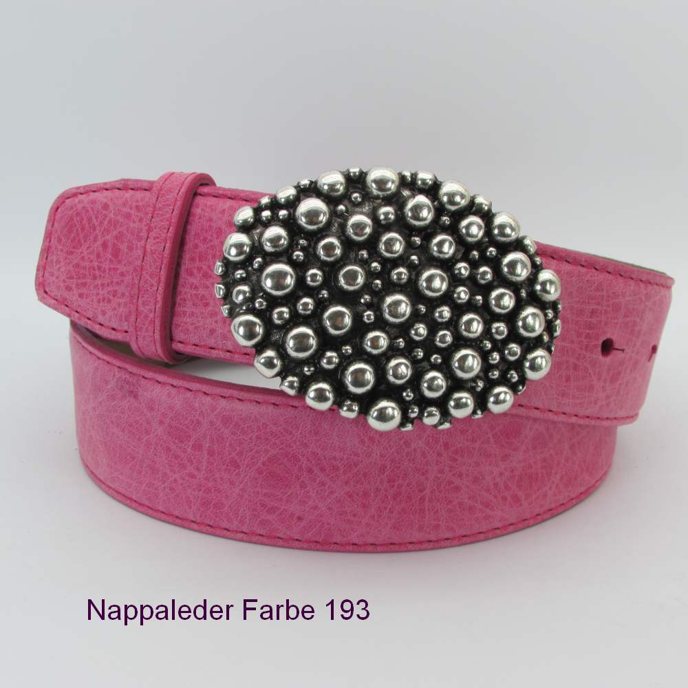 Pink Damengürtel 4 cm breit 2